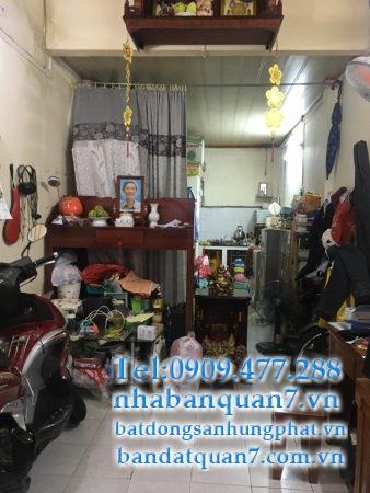 Bán gấp nhà hẻm 861 Trần Xuân Soạn quận 7