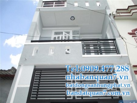 Bán nhà phường Tân Quy 4x16,5 giá 5,8 tỷ.