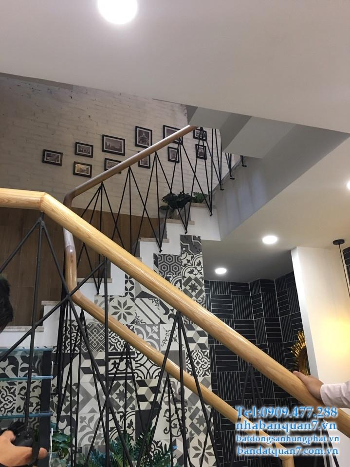 Bán nhà khu kiều đàm đường Trần Xuân Soạn Quận 7