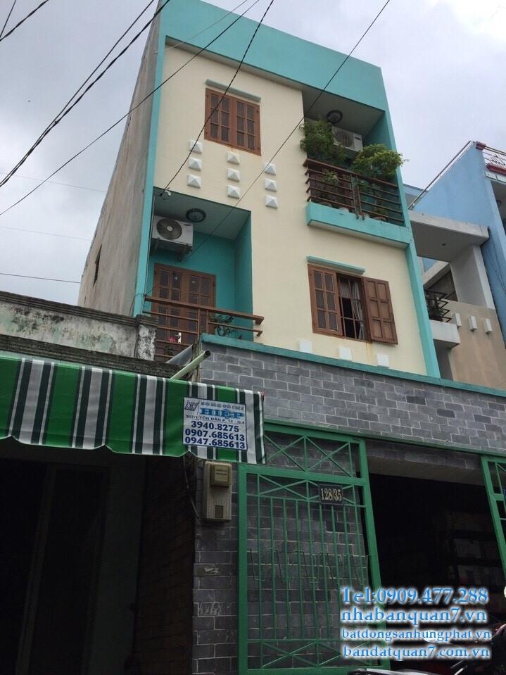Bán nhà hẻm 128 huỳnh tấn phát