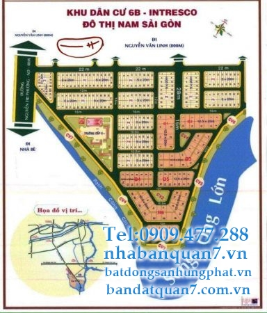 bán đất 6b intresco 5x21m
