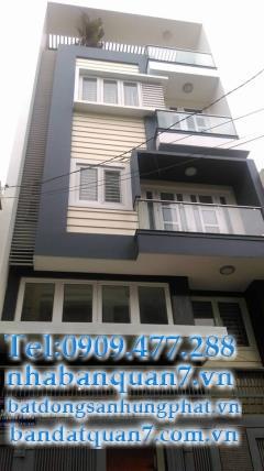 bán nhà hẻm 793 Trần Xuân Soạn quận 7