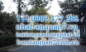 bán đất đường Trần trọng cung quận 7