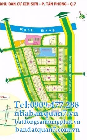 bán lô b136 kim sơn quận 7 sổ hồng