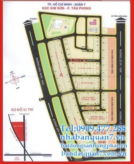 bán lô B110 Kim Sơn quận 7