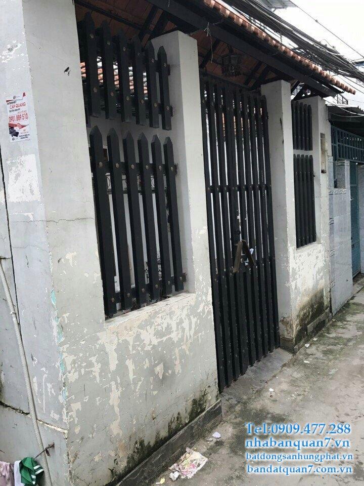 Bán nhà hẻm 60 Lâm Văn Bền
