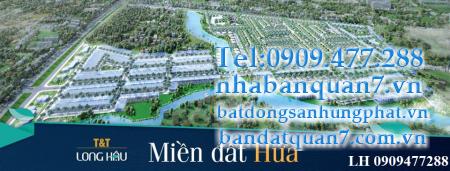 đất nền T&T Thái Sơn Long Hậu