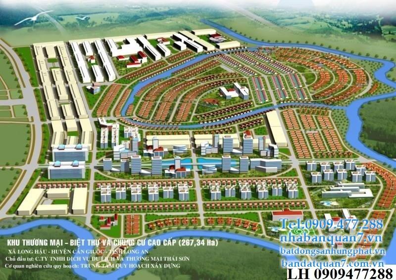 dự án đất nền T&T Thái Sơn Long Hậu