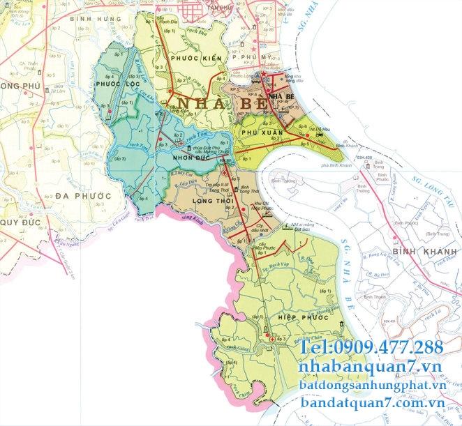 Quy hoạch huyện Nhà Bè trong 3 năm tới – Đô thị Cảng tương lai.