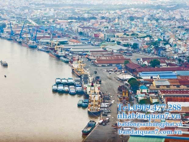 """""""Sốt"""" địa ốc tại khu đô thị Cảng Hiệp Phước."""