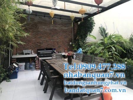 Bán biệt thự đường Nguyễn Thị Thập quận 7