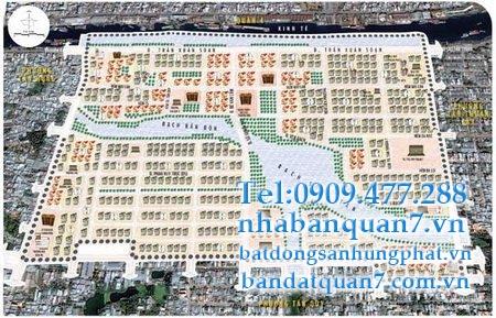 Bản đồ quy hoạch phường Tân Kiểng quận 7