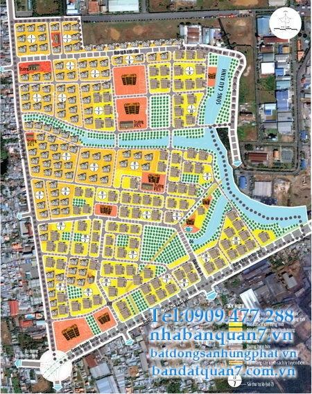 Bản đồ quy hoạch phường Tân Thuận Đông