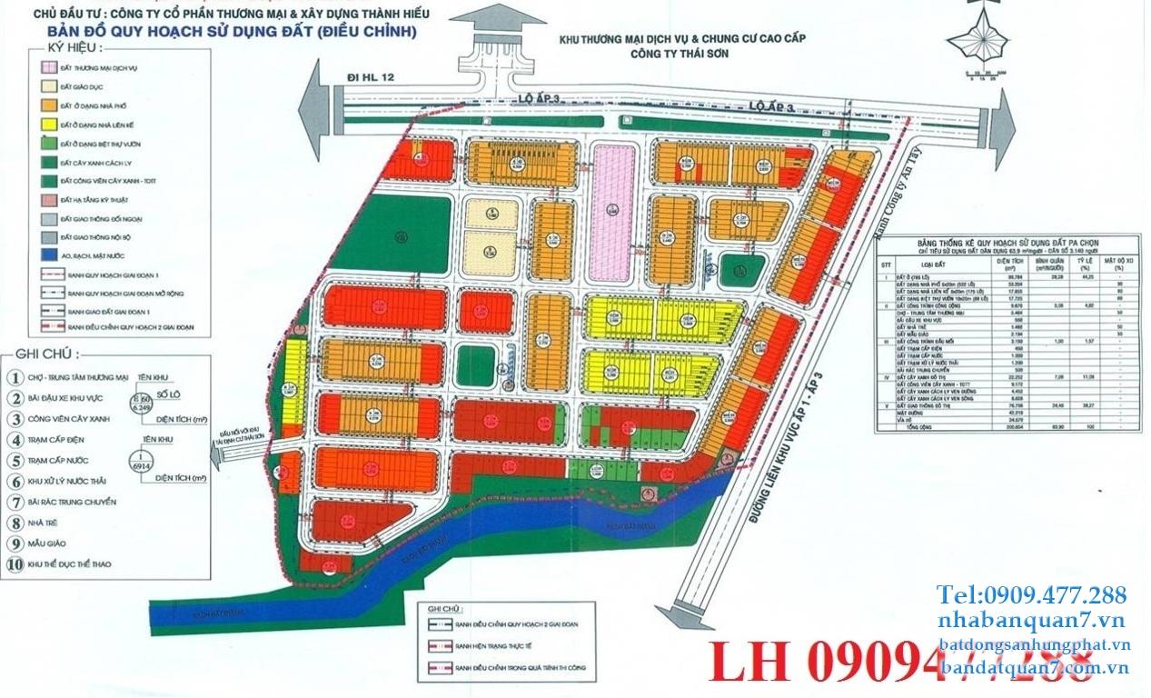 Bảng giá dự án Long Hậu Riverside