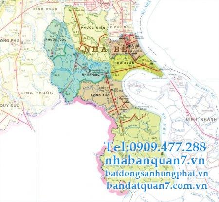 Quy hoạch huyện Nhà Bè năm 2020