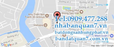 Bản đồ quy hoạch phường Tân Hưng quận 7
