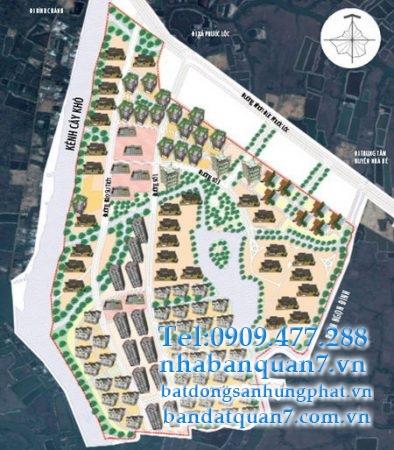 Bản đồ quy hoạch xã Phước Lộc huyện Nhà Bè.