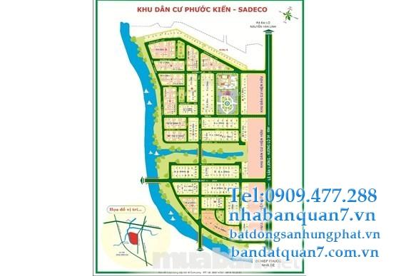 bán đất H5 sadeco phước kiển nhà bè