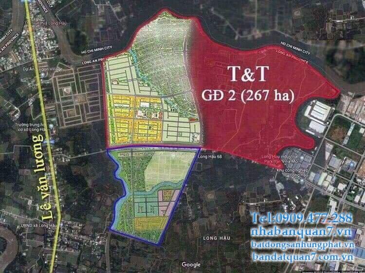 bán đất T&T Millennia City Long Hậu