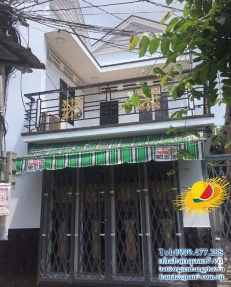 Bán nhà hẻm Huỳnh Tấn Phát quận 7