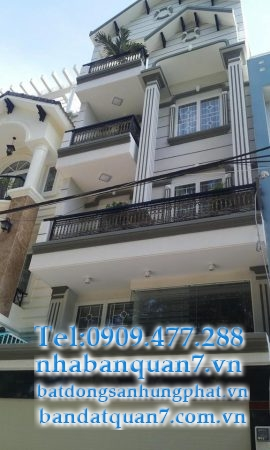 bán nhà mặt tiền kdc Nam Long Phú THuận