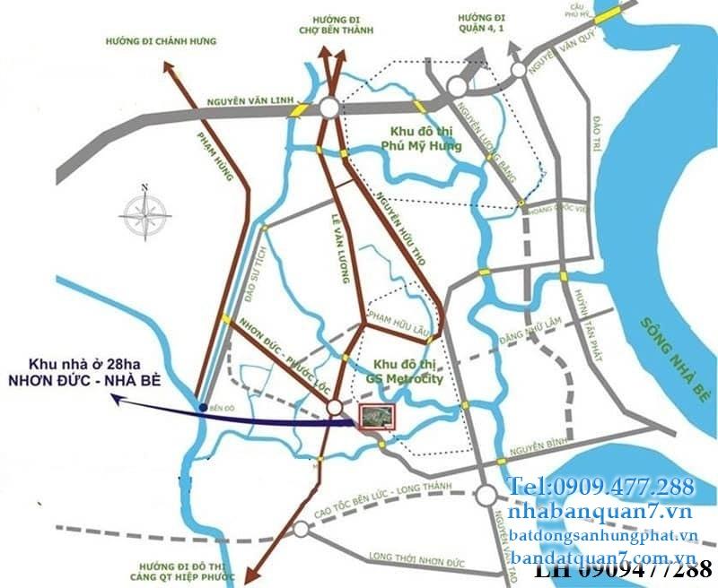 Dự án căn hộ GS MetroCity Nhà Bè - Thông tin mới nhất từ chủ đầu tư