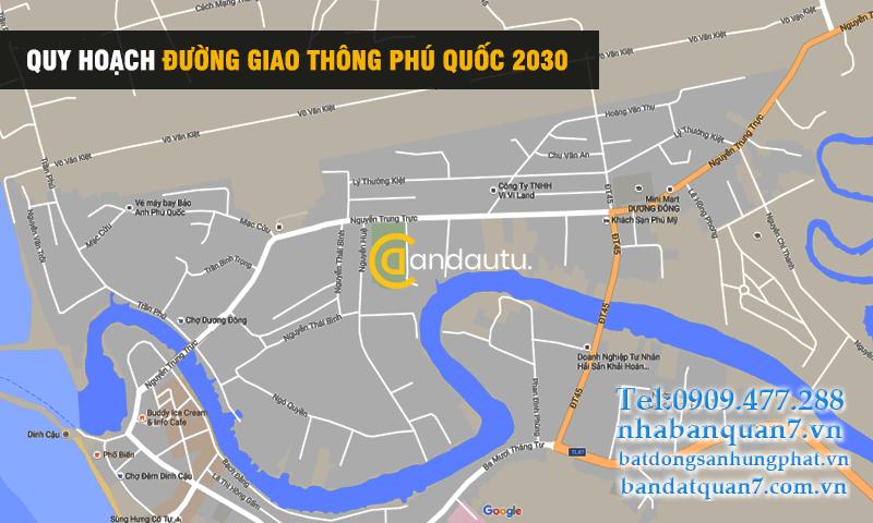 Quy hoạch đường giao thông Phú Quốc 2030