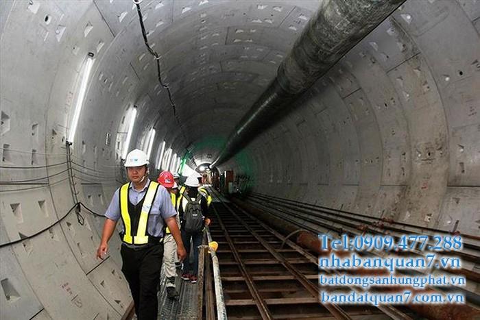 Ðường hầm tuyến metro số 1 TPHCM: Sai sót, vi phạm rất nghiêm trọng