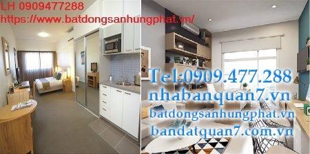 Cho thuê căn hộ officetel Sunrise city View quận 7