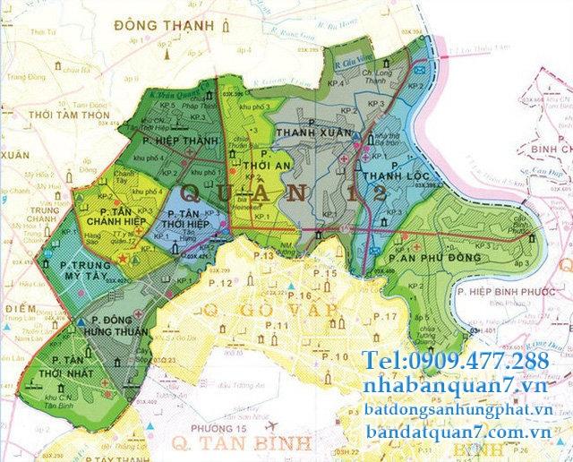 Đất nền quận 12
