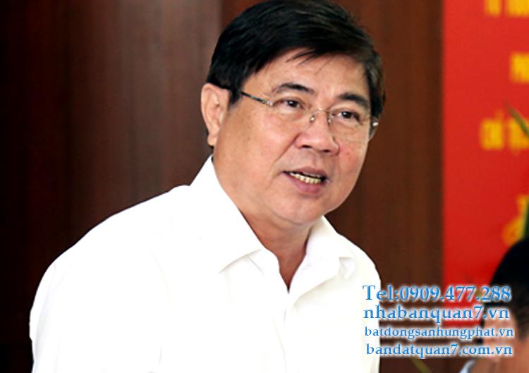 Chủ tịch TP HCM muốn quận 7 thành đô thị kiểu mẫu