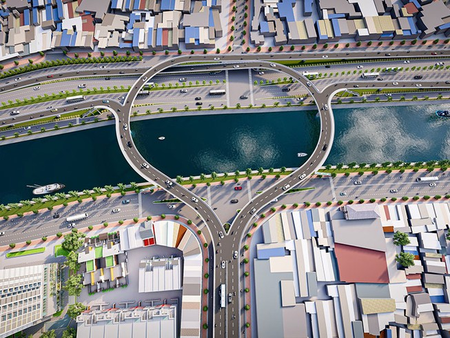 Cầu Nguyễn Khoái và cầu Thủ Thiêm sắp được đầu tư