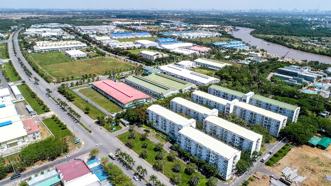 Cụm, khu công nghiệp phát triển mạnh mẽ, BĐS Long An đón đầu hưởng lợi