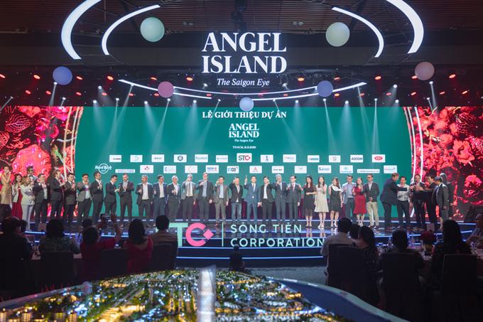 Hơn 20 đối tác phát triển dự án Angel Island