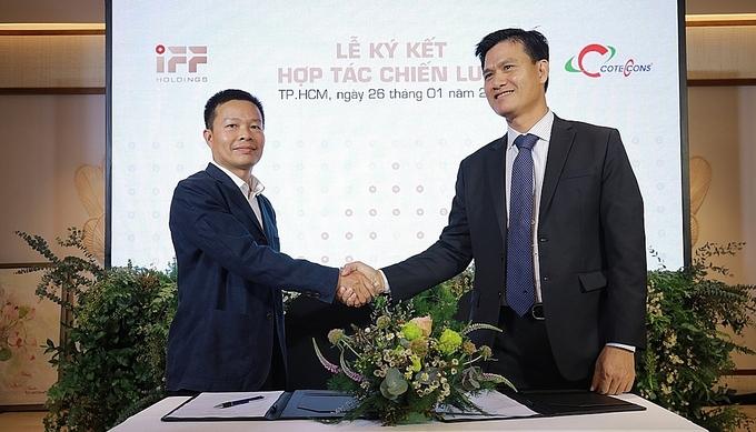 Coteccons 'bắt tay' IFF Holdings triển khai dự án tại Hồ Tràm