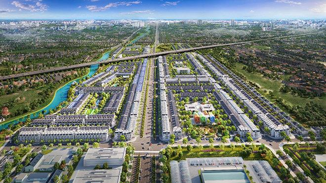 Dự án The Sol City Long An  đạt top 10 dự án đô thị và nhà ở tiềm năng nhất 2021