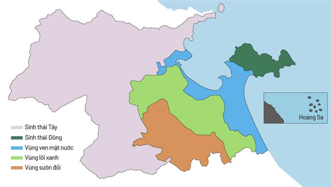 Ba vùng đô thị đặc trưng trong quy hoạch Đà Nẵng