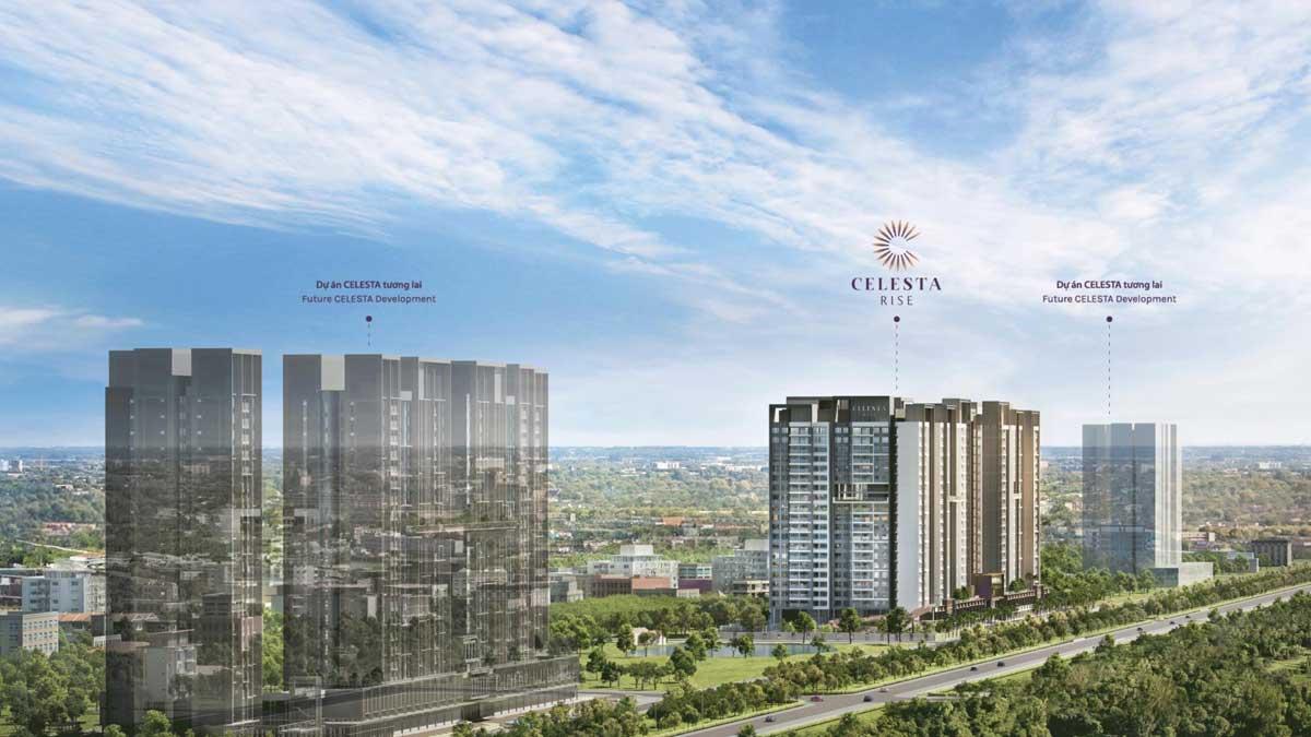 Thị trường bất động sản khu Nam đang sôi động với dự án Celesta Rise