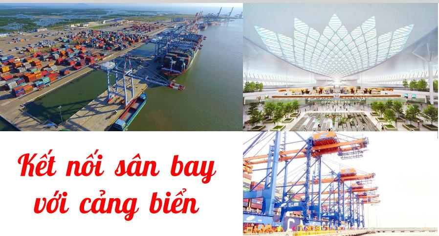 Kết nối sân bay với cảng biển