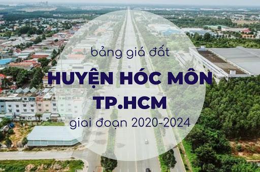 Giá nhà đất huyện Hóc Môn TPHCM năm 2020 – 2024