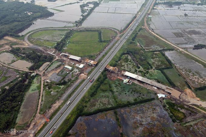 Đường nối cao tốc TP HCM – Long Thành sắp hoàn thành