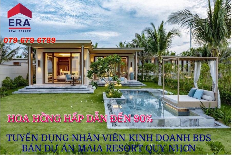 Tuyển dụng nhân viên kinh doanh bán dự án Maia Resort Quy Nhơn