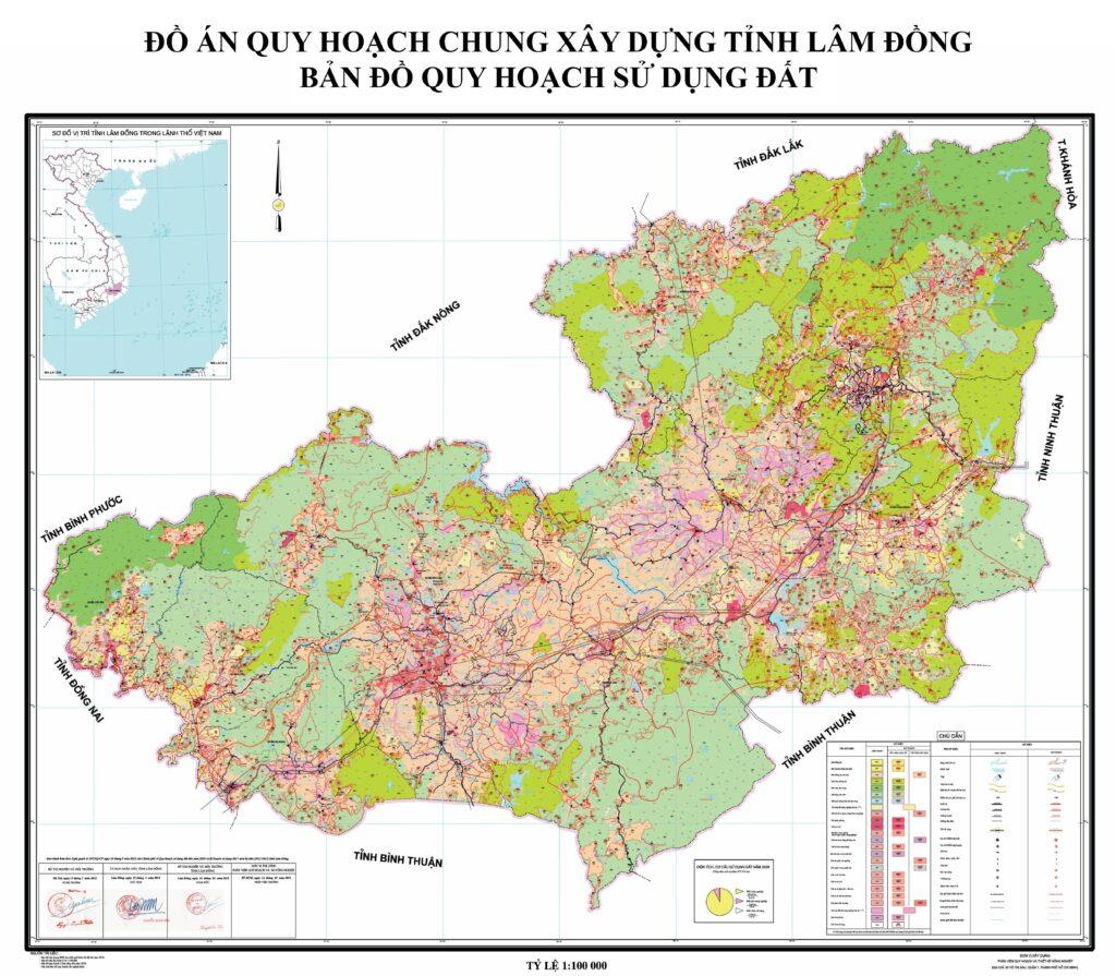 Bản đồ quy hoạch thành phố Bảo Lộc, Lâm Đồng