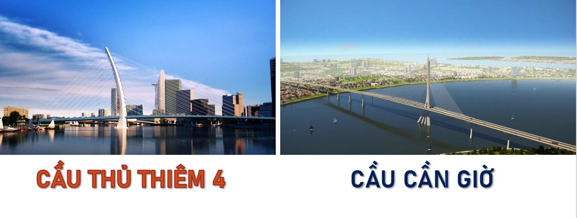 Cầu Thủ Thiêm 4 và cầu Cần Giờ đang triển khai tới đâu ở thời điểm tháng 9/2021?
