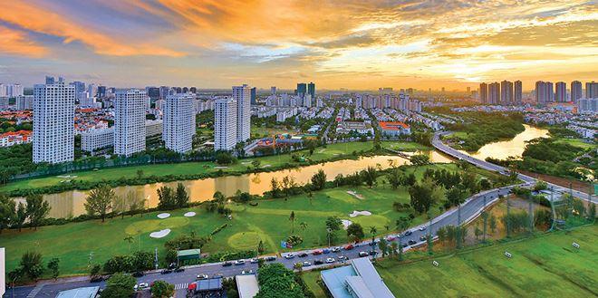 Lý do bất động sản Nam Sài Gòn tăng giá trong dịch